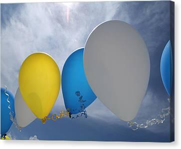 Balloons Canvas Print by Patrick M Lynch