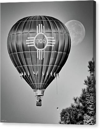 Canvas Print featuring the photograph Ballunar Eclipse by Kevin Munro