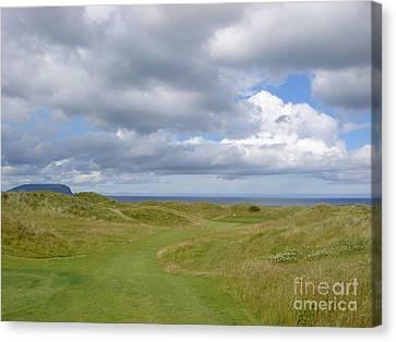 Ballyliffin Ireland Golf 1 Canvas Print