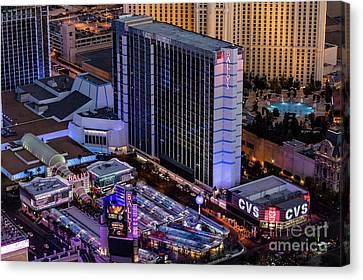 Bally's Hotel, Las Vegas Canvas Print by Sv