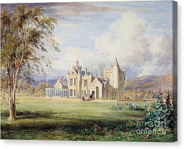Balmoral Castle Canvas Print by James Giles