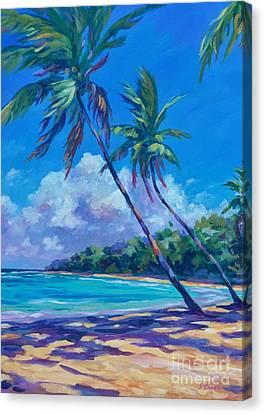Mauritius Canvas Print - Balmy Breezes by John Clark