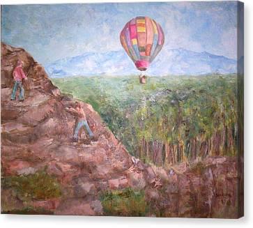 Baloon Canvas Print by Joseph Sandora Jr