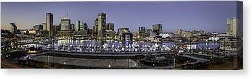 Baltimore Inner Canvas Print