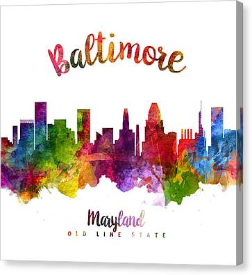 Baltimore Maryland 23 Canvas Print