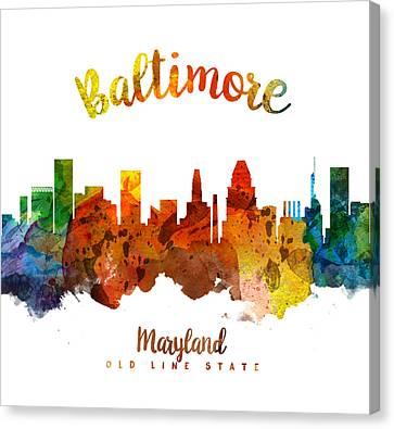 Baltimore Maryland 26 Canvas Print
