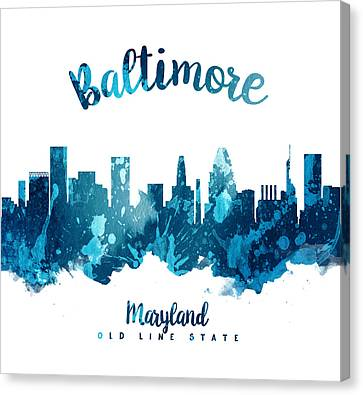 Baltimore Maryland 27 Canvas Print