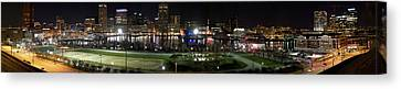 Baltimore Nights Canvas Print by Brent L Ander