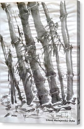 Bamboo Grove 3 Canvas Print