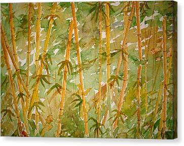 Bamboo Jungle Canvas Print