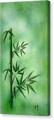Bamboo Canvas Print by Svetlana Sewell