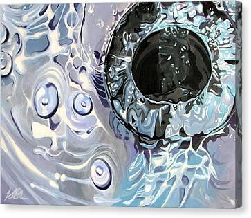 Banality Canvas Print by Kelly Baskin