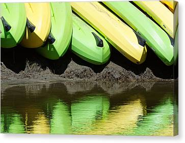 Banana Boats #3 Canvas Print by Darin Volpe