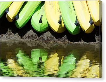 Banana Boats Canvas Print by Darin Volpe