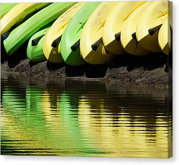 Banana Boats Too Canvas Print by Darin Volpe