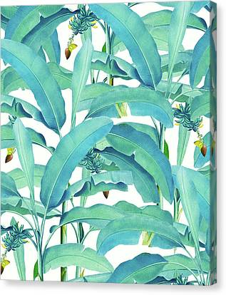 Banana Forest Canvas Print