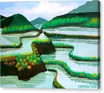 Banaue Canvas Print