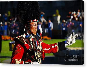 Band Leader Canvas Print by David Lee Thompson