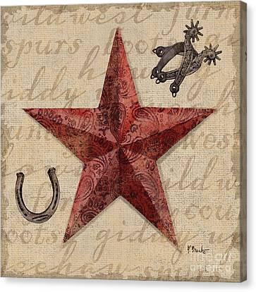 Bandana Barn Star I Canvas Print