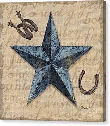 Bandana Barn Star II Canvas Print