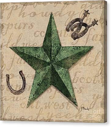 Bandana Barn Star IIi Canvas Print