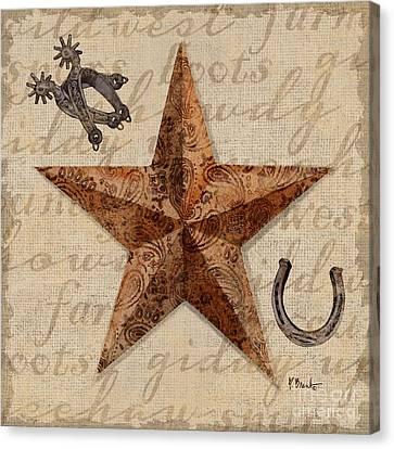 Bandana Barn Star Iv Canvas Print