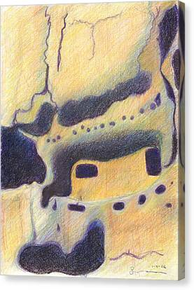 Bandelier I Canvas Print by Harriet Emerson