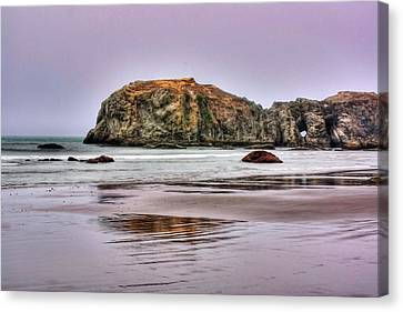 Canvas Print featuring the photograph Bandon Beach Oregon by Tyra  OBryant