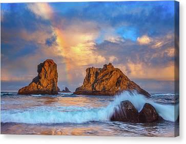Bandon Rainbow Canvas Print