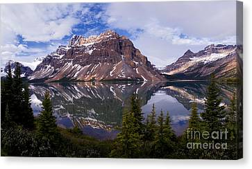 Banff - Bow Lake Canvas Print