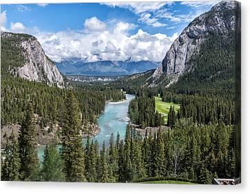 Banff - Golf Course Canvas Print