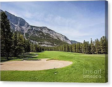 Banff Springs No 6 Canvas Print by Scott Pellegrin