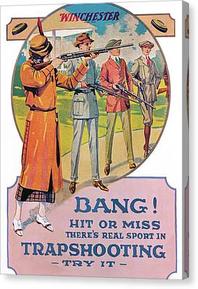 Bang Canvas Print by Unknown