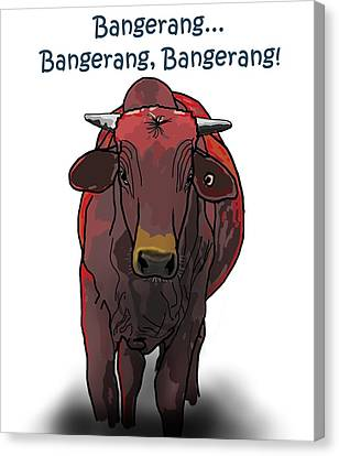 Canvas Print - Bangerang by Joan Stratton