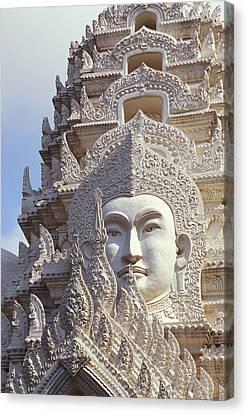 Bangkok, Wat Ratchapradt Canvas Print by Bill Brennan - Printscapes