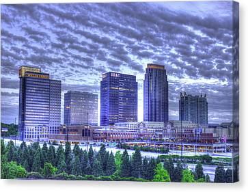 Banking Buddies Midtown Atlanta Canvas Print