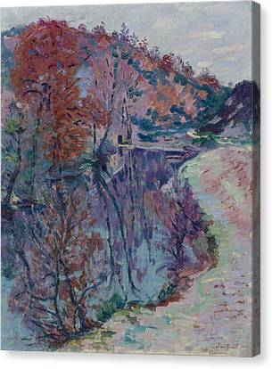 Banks Of The Sedelle Canvas Print