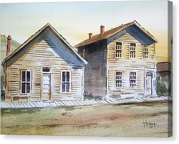 Bannack Ghost Town Montana Canvas Print by Kevin Heaney