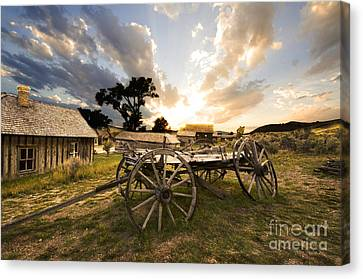 Bannack Montana Ghost Town Canvas Print