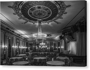 Banquet Room Canvas Print by Andrew Soundarajan