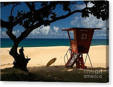 Banzai Beach Canvas Print by Mark Gilman