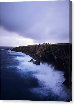 Banzai Cliff Canvas Print by Mitch Warner - Printscapes