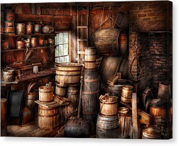 Bar - Wine Maker - Just Add Wine  Canvas Print