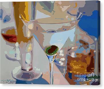 Bar Drinks Canvas Print