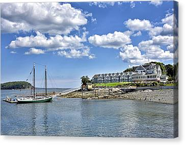 Bar Harbor Inn - Maine Canvas Print