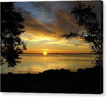 Bar Harbor Sunrise 1 Canvas Print