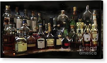 Bar Pano Canvas Print