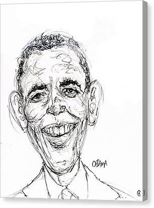 Barack Obama Canvas Print