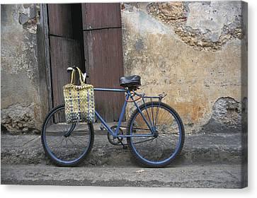 Baracoa Bicycle Canvas Print