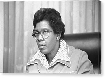 Barbara Jordan 1936-1996, African Canvas Print by Everett